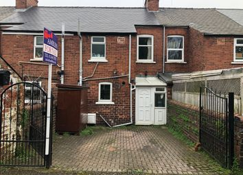 Thumbnail 2 bed terraced house for sale in Resevoir Terrace, Brockwell Chesterfield