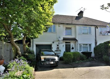 Thumbnail 4 bed semi-detached house for sale in Birchfield Close, Addlestone