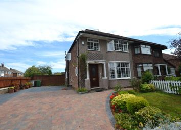 Thumbnail 3 bed semi-detached house for sale in Richmond Road, Bebington, Wirral