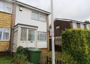 Thumbnail 2 bedroom end terrace house for sale in Strangers Way, Luton