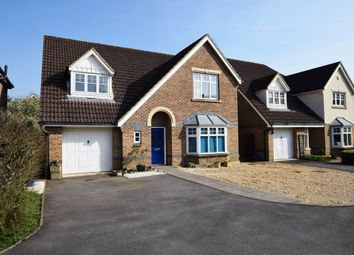 Thumbnail 4 bed detached house for sale in Bittern Close, Aldershot, Hampshire