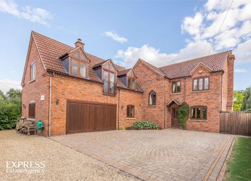 Thumbnail 5 bed detached house for sale in Claypole Road, Stubton, Newark, Lincolnshire