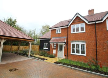 Thumbnail 4 bed semi-detached house for sale in Low Meadow, Brook End, Weston Turville
