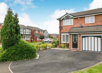 Thumbnail 3 bed detached house for sale in Harris Close, Leighton, Crewe, Cheshire