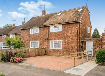 Thumbnail 4 bed semi-detached house for sale in Wheatley Road, Welwyn Garden City