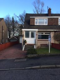 Thumbnail 3 bed semi-detached house for sale in Lunan Drive, Bishopbriggs, Glasgow, East Dunbartonshire