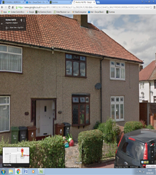 Thumbnail 2 bed terraced house to rent in Hunters Hall Road, Dagenham