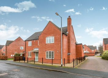 Thumbnail 4 bed detached house for sale in Lawrence Way, Lichfield