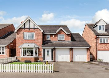 Thumbnail 4 bed detached house for sale in Hickling Close, Rothley, Leicester