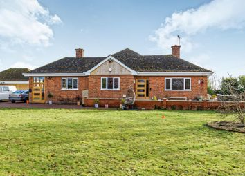 Thumbnail 3 bed detached bungalow for sale in Boston Road, Wainfleet St. Mary, Skegness