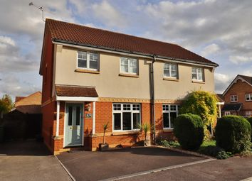 Thumbnail 3 bed semi-detached house for sale in Terrier Close, Hedge End, Southampton, Hampshire
