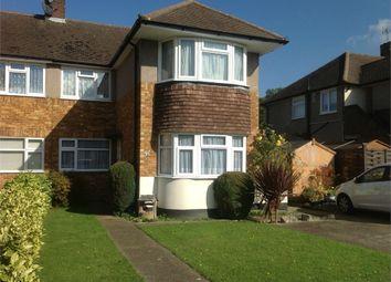 Thumbnail 2 bedroom maisonette to rent in Stanton Close, West Ewell, Epsom