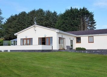 Thumbnail 6 bed detached bungalow for sale in Bethania, Llanon