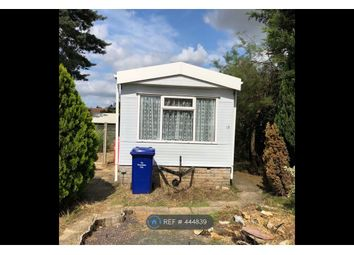 Thumbnail 1 bed mobile/park home to rent in Rozel Court, Beck Row, Bury St. Edmunds