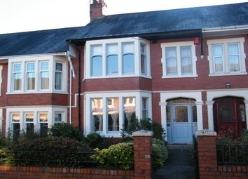 Thumbnail 3 bedroom property to rent in Keswick Avenue, Roath, Cardiff