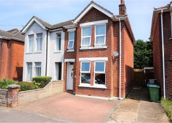 Thumbnail 3 bed semi-detached house for sale in Porchester Road, Woolston