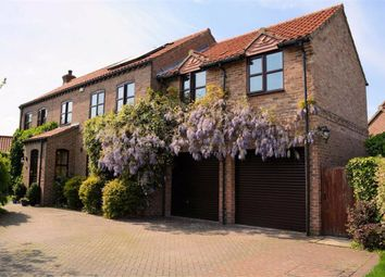 Thumbnail 5 bedroom detached house for sale in Maypole Gardens, Cawood