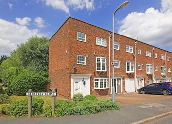 Thumbnail 4 bed town house for sale in Berkeley Close, Elstree, Borehamwood
