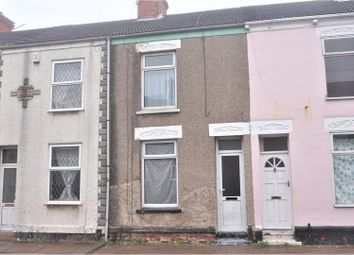 Thumbnail 3 bed terraced house for sale in Donnington Street, Grimsby