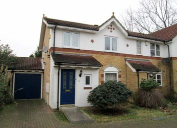 Thumbnail 3 bed semi-detached house to rent in Hadleigh Close, London