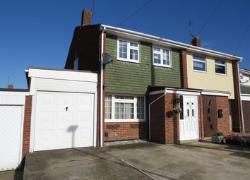 Thumbnail 3 bedroom semi-detached house for sale in Corinne Close, Reading