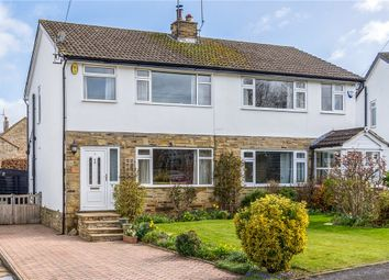 Thumbnail 3 bed semi-detached house for sale in St. Lukes Close, Clifford, Wetherby, West Yorkshire
