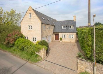 Thumbnail 6 bed detached house for sale in Chapel Road, Weldon, Corby