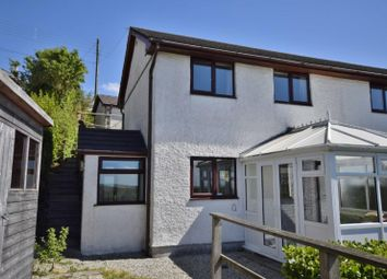 Thumbnail 2 bedroom semi-detached house to rent in Row, St. Breward, Bodmin