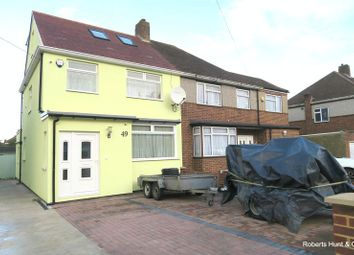 Thumbnail 4 bed semi-detached house for sale in Harvest Road, Feltham