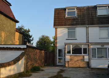 Thumbnail 4 bedroom town house to rent in Church Road, Harold Wood, Romford