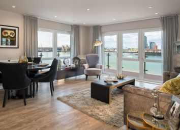 Thumbnail 2 bed flat to rent in Centenary Quay, Woolston, Southampton, Hampshire