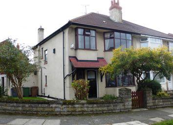 Thumbnail 3 bed semi-detached house for sale in Oarside Drive, Wallasey