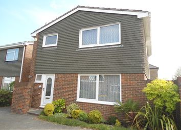 Thumbnail 4 bed detached house to rent in Godfrey Close, Strood