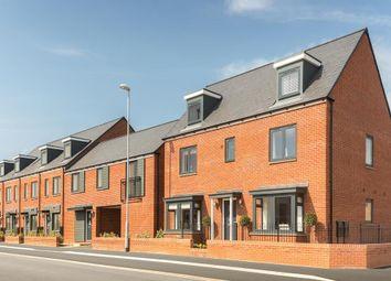 """Thumbnail 4 bedroom terraced house for sale in """"Helmsley"""" at Pedersen Way, Northstowe, Cambridge"""