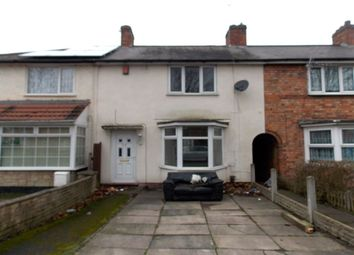 Thumbnail 3 bed terraced house for sale in Upton Road, Yardley, Birmingham