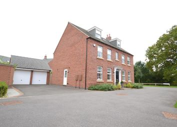 Thumbnail 5 bed detached house for sale in Crowson Drive, Quorn, Leicestershire