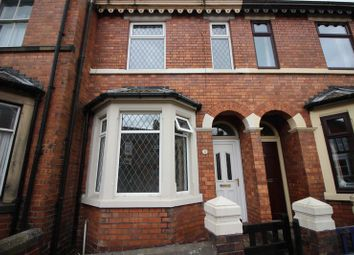 Thumbnail 3 bed terraced house for sale in Westwood Road, Leek, Staffordshire