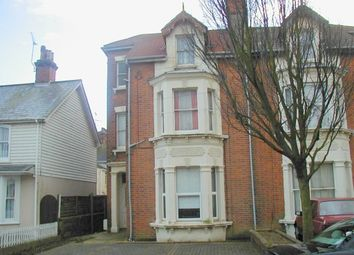 Thumbnail 1 bed flat to rent in Church Road, Clacton-On-Sea, Essex