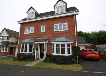 Thumbnail 4 bed detached house for sale in Wood Green Gardens, Wigan