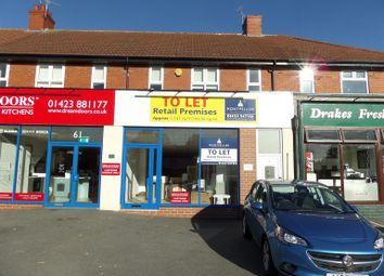 Thumbnail Retail premises to let in Knaresborough Road, Harrogate