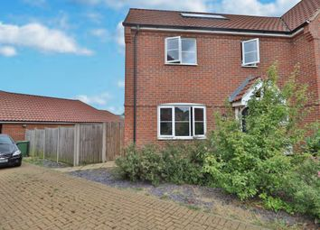 Thumbnail 3 bed semi-detached house for sale in Prince William Way, Diss