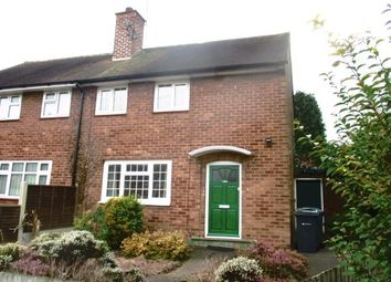 Thumbnail 2 bed property to rent in Ryde Park Road, Rednal, Birmingham