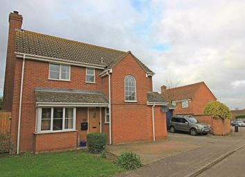 Thumbnail 4 bed detached house for sale in Ferndown Drive, Godmanchester
