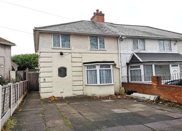 Thumbnail 3 bed semi-detached house for sale in Carcroft Road, Yardley, Birmingham