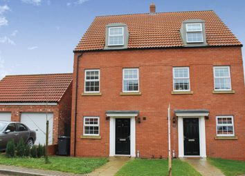Thumbnail 3 bed semi-detached house to rent in Low Medstone Drive, Easingwold, York