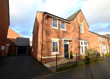 Thumbnail 4 bedroom detached house for sale in Sutton Avenue, Hertiage Park, Silverdale, Newcastle-Under-Lyme
