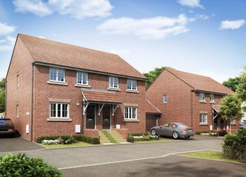 "Thumbnail 3 bed semi-detached house for sale in ""Finchley"" at Priorswood, Taunton"