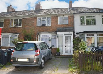 Thumbnail 3 bed terraced house for sale in Hollyhock Road, Hall Green, Birmingham
