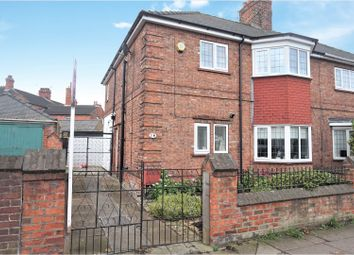 Thumbnail 3 bed semi-detached house for sale in Cromwell Road, Grimsby
