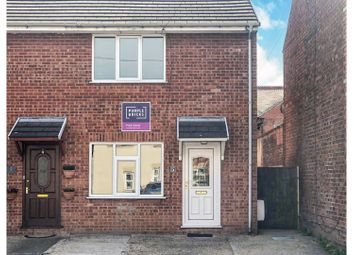 Thumbnail 2 bedroom end terrace house for sale in Offa Street, Wrexham